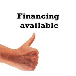 Financing is available with business factoring services